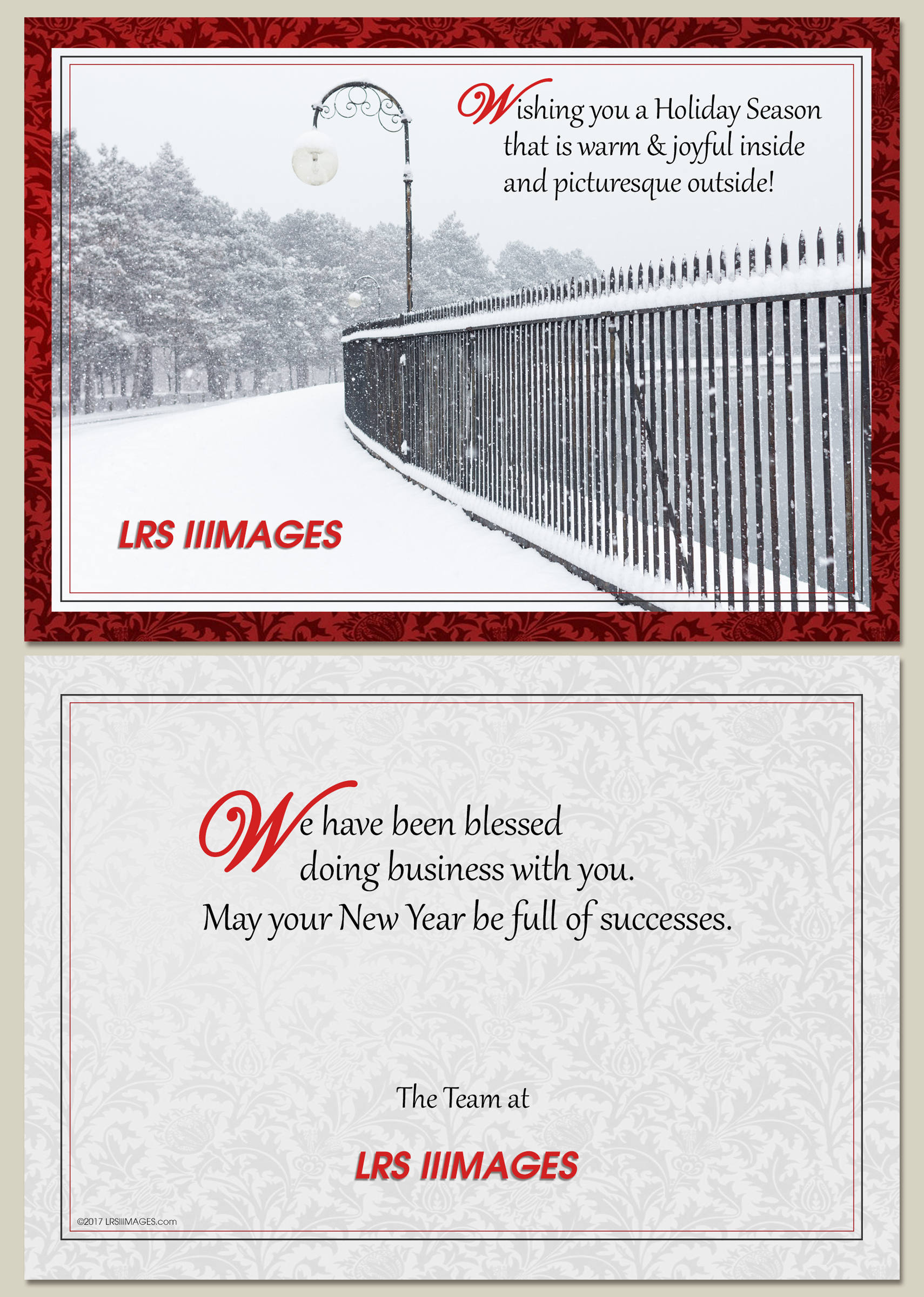 LRSIIIMAGES Christmas Greeting card 2017.
